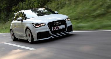 KW V3 lieferbar: Quattro-Stance für Audi A1 quattro