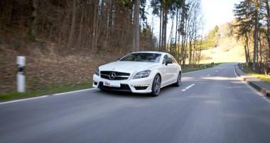 Ideal für den Mercedes-Benz CLS 63 AMG 4MATIC: KW Tieferlegungsfedern mit stufenloser Höhenverstellung