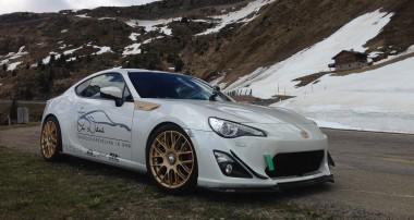 ST XTA inside – Renés Toyota GT86 erobert die Berge