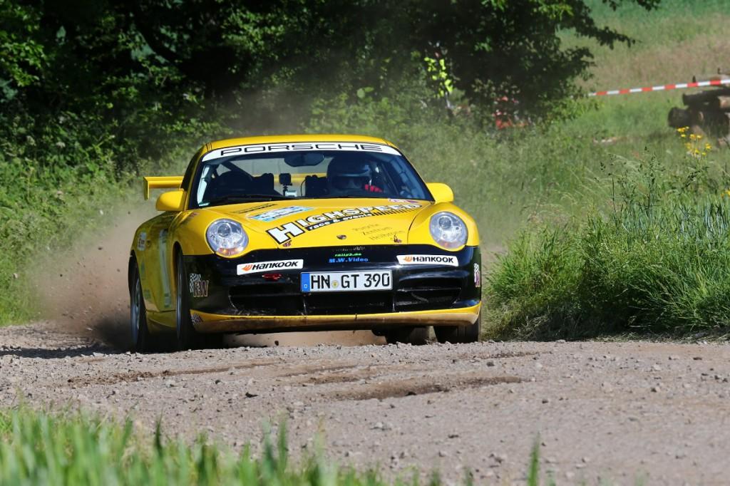 HighspeedEvents Noller im KW Porsche