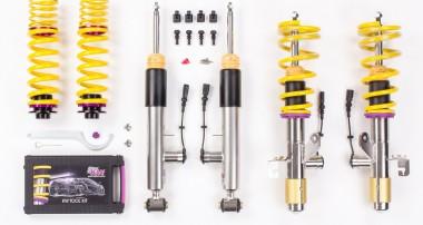 70 mm Tieferlegung! KW ddc plug & play Gewindefahrwerk für BMW X4