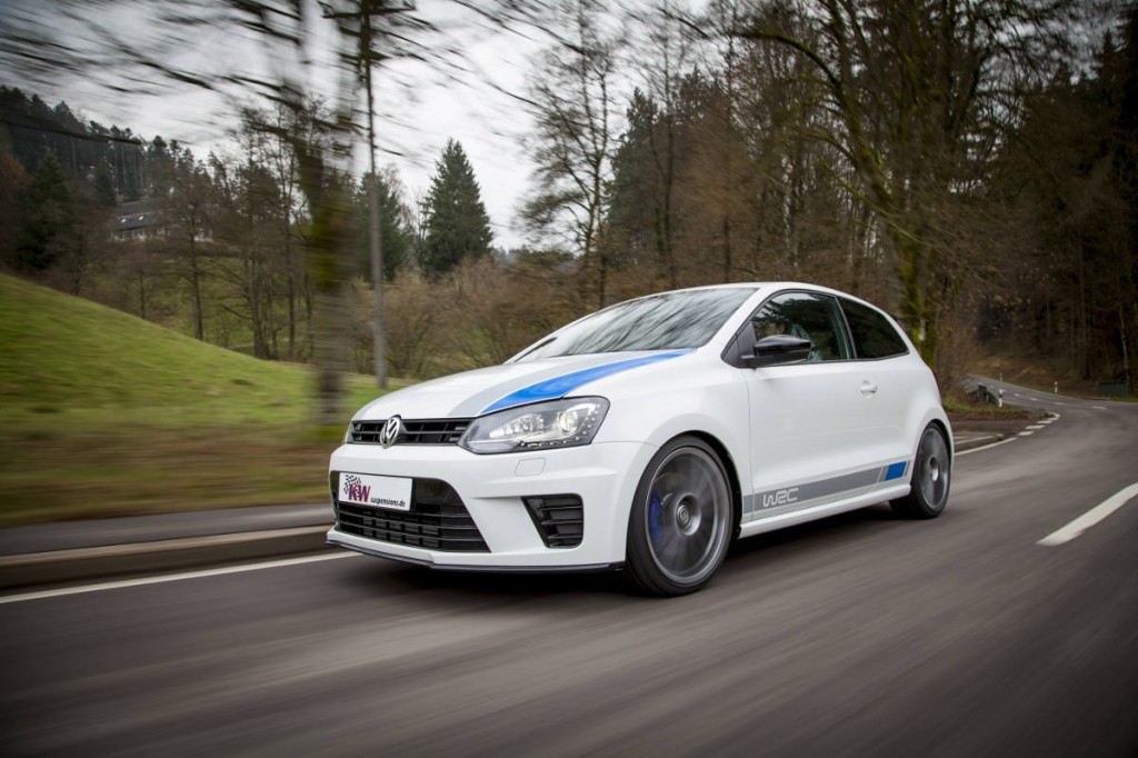 VW Polo WRC mit KW Clubsport