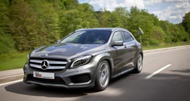 KW Gewindefahrwerke für Mercedes-Benz GLA-Klasse