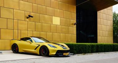 Top-Handling bei 320 km/h: KW Gewindefahrwerk exklusiv für neue Geiger Corvette und Serien-C7