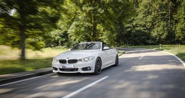 KW Gewindefahrwerke für BMW 4er Cabrio: Maximale Tiefe von 65 mm