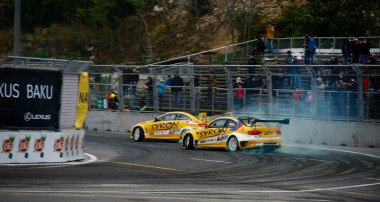 Drift: Gräff Motorsport driftet bei der Baku World Challenge