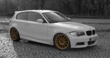 Einer der fünf Gewinner: der BMW Einser von Maximilian mit ST XTA