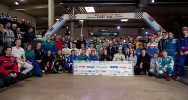 KW unterstützt VLN-Saisonabschluss auf der Kartbahn