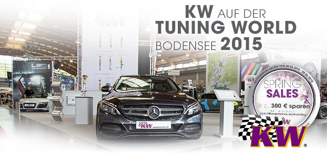 KW auf der Tuning World Bodensee 2015