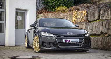 Coming soon: KW Gewindefahrwerke für den neuen Audi TT
