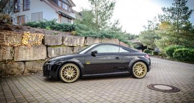Im Angebot: 30 mm ST Sportfedern + Distanzscheiben für neuen Audi TT