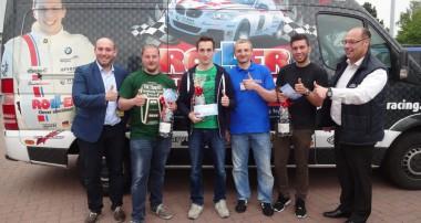 Thomas Kiefer sichert sich die Teilnahme zur Sichtung fürs Roller-Motorsportförderungsprogramm 2016