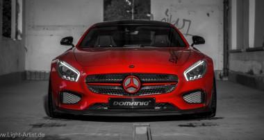 Für den Mercedes-AMG GT lieferbar: höhenverstellbare KW Federn