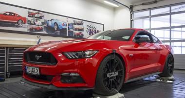 Neuer Ford Mustang fährt mit KW Gewindefahrwerk noch sportlicher
