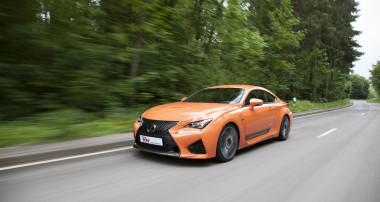 Born to perform: KW Gewindefahrwerk für neuen Lexus RC F
