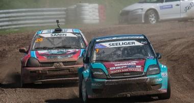 Rallycross: Sven Seeliger nach heißem Rennen auf Platz 2