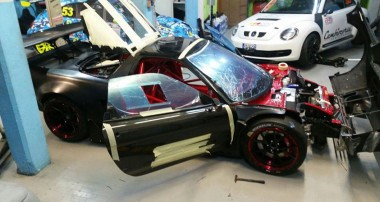 Work in progress: Simoni Racing reanimiert einen Honda NSX