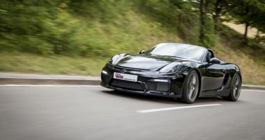 Stufenlose Tieferlegung für Porsche Boxster Spyder