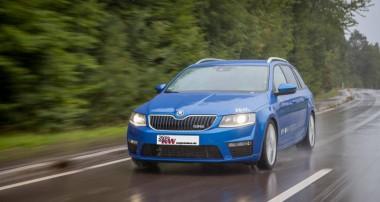 Mehr Fahrkomfort für Skoda Octavia RS und Co.: KW Street Comfort – das Fahrwerk mit Zufriedenheitsgarantie