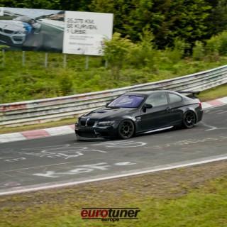 Perfekt für die Nordschleife: ein BMW M3 mit KW Gewindefahrwerk!