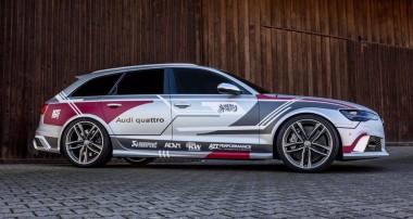 Starker Auftritt für einen Audi RS6 mit KW Gewindefedern!
