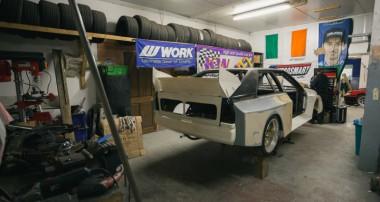 Eine Legende entsteht: der Audi Drift Sport D-Mac S1