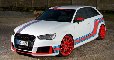 KW Clubsport und Martini Racing Style für MR Racing RS3 Sportback