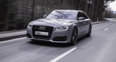 Neu für den Audi S8 plus (D4): Tieferlegung per Smartphone