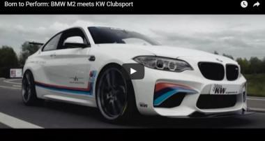 Maximale Fahrdynamik im BMW M2: KW Clubsport 3-way erhältlich!