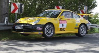 Rallye: Starker Porsche-Auftritt bei der DRM Rallye Sachsen