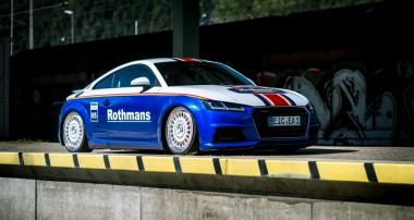 Starke Kombo: Audi TT im Rothmans Style mit Super+ Felgen