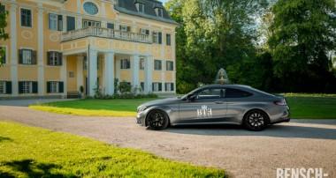 V8 verpflichtet: Mercedes C63 AMG Coupé mit KW V3
