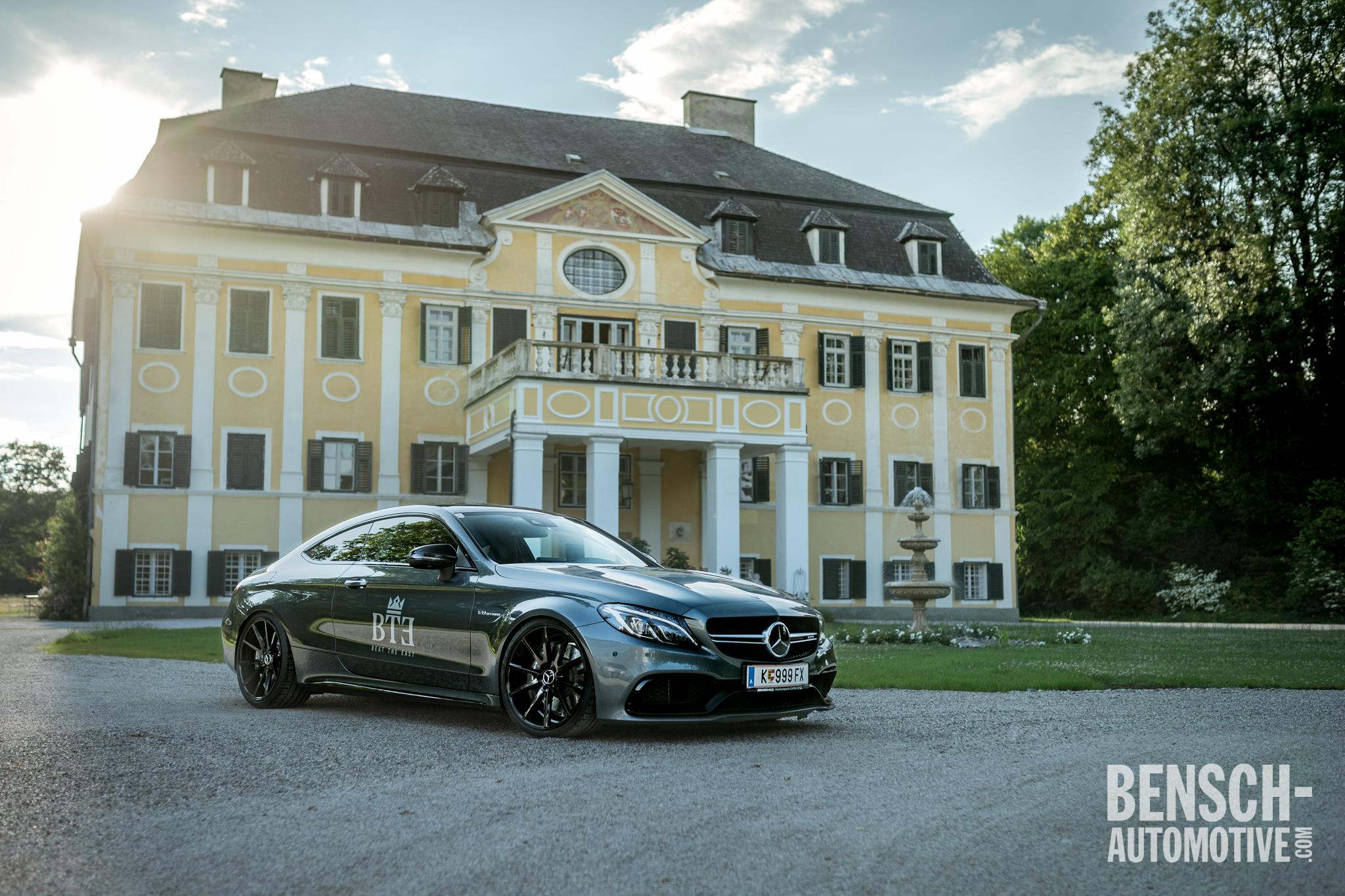 V8 verpflichtet Mercedes C63 AMG Coupé mit KW V3