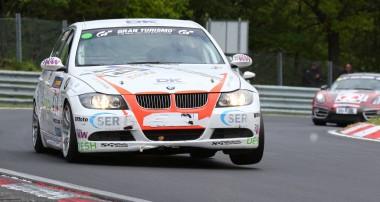 VLN: Team Derscheid belegt bei widrigen Bedingungen den 4. Platz