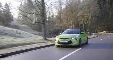 Mehr Fahrspaß im Hyundai Veloster: ST Gewindefahrwerk erhältlich