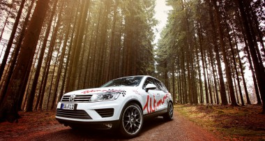 Tief im Wald: KW Variante 3 für VW Touareg!