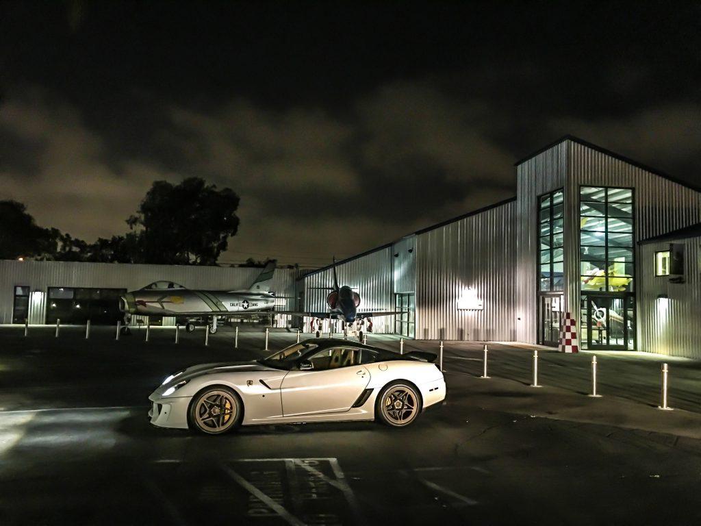 Ferrari 599 GTB mit KW V3 und HLS in LA