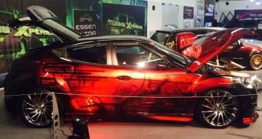 Code Black Diamond: ST X Gewindefahrwerk im Show-VeloSTer