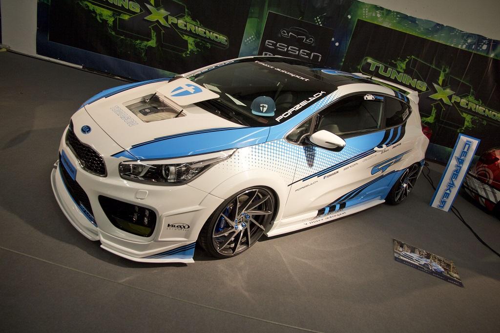 Einer der coolsten KIA auf der Essen Motor Show 2016
