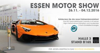 KW auf der Essen Motor Show: Premiere der KW Variante 4