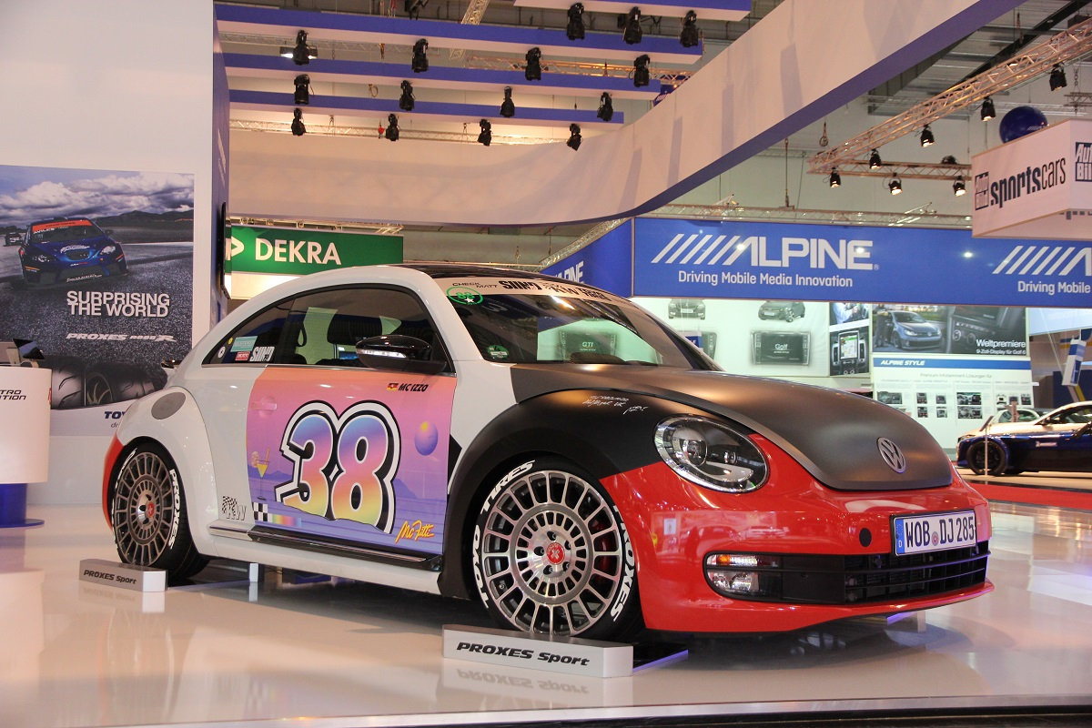 """VW """"Outlaw"""" Beetle von Sidney Industries mit KW Variante 3."""