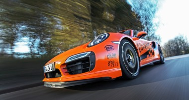Wimmer's Turbo-Cabrio: 0 – 300 km/h in 17,9 Sekunden!
