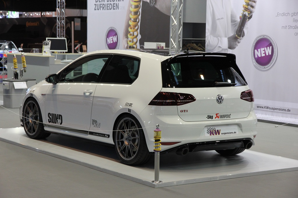 Großer Sport Für Den Vw Golf Gti Clubsport S Idney Kw Automotive Blog