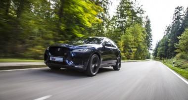 Stufenlose Tieferlegung für Jaguar F-Pace erhältlich