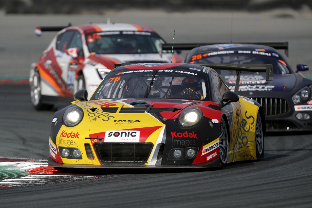 24h-Rennen Dubai 2017 Porsche Doppelsieg auf KW Fahrwerktechnologie