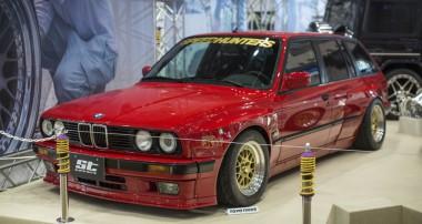 Zurück in die Achtziger: BMW 3er Touring vom Tokyo Auto Salon 2017