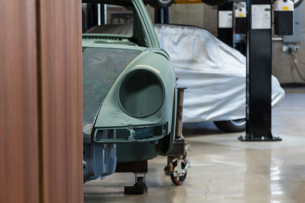 Unverkäuflich? Ein 73er nardograuer 911T vom Workshop 5001