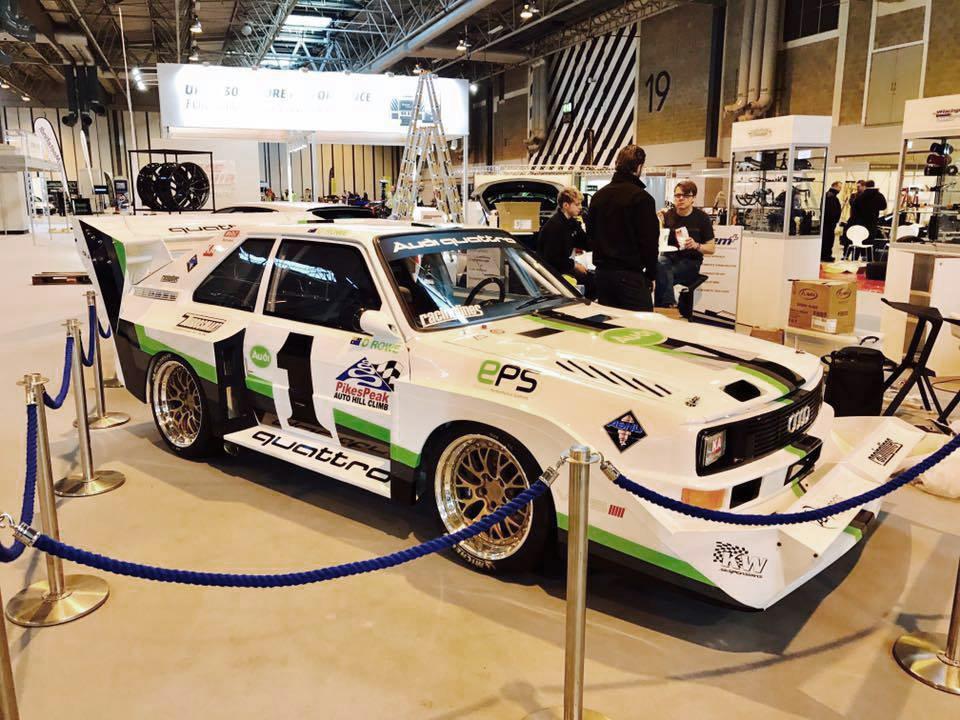 KW Kundenfahrzeug auf der Autosport International Birmingham 2017.