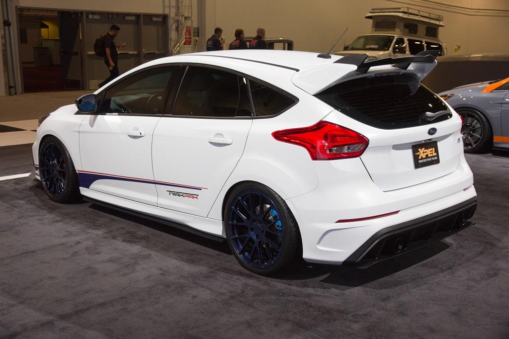 Auch der Ford Focus RS von Roush Performance setzt auf die KW Fahrwerktechnologie.