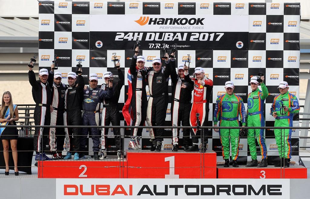 Auch im BMW-Cup beim 24h-Rennen in Dubai gab es einen Doppelsieg auf KW Fahrwerken.